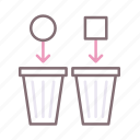 manual, recycling, separation