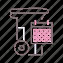 collection, municipal, program icon