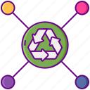 disposal, options, additional icon