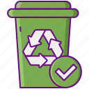 available, recycling, services icon