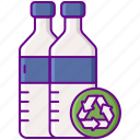recycling, bottle, plastic icon