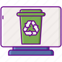 disposal, commercial, waste icon