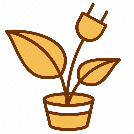 eco, green, idea, innovation, natural, plant, solution icon