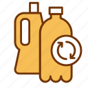 bottle, can, ecology, environment, plastic, recycle, recycling icon