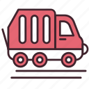 car, garbage, management, transportation, trash, truck, wase icon