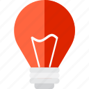 bulb, electricity, electronics, idea, illumination, light, technology icon