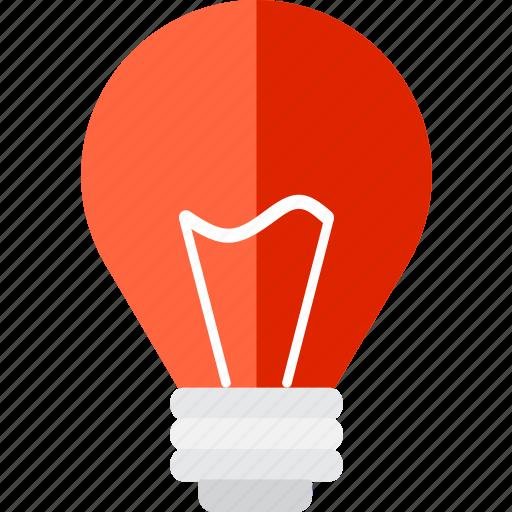 bulb, electricity, electronics, idea, illumination, light, technology icon