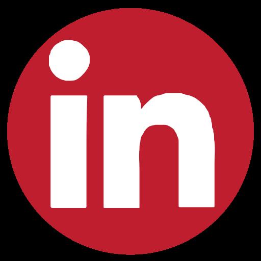 linkedin, media, rs, social icon