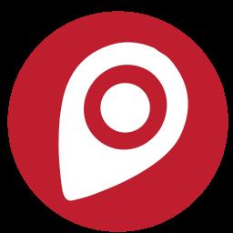 mapgps, media, rs, social icon