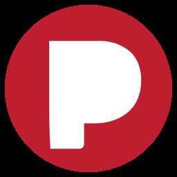 media, pandora, rs, social icon
