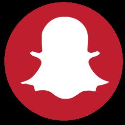 media, rs, snapchat, social icon