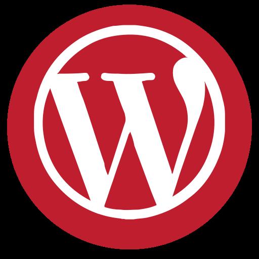 media, rs, social, wordpress icon