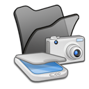 &, cameras, folder, scanners icon