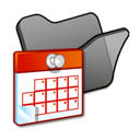 folder, scheduled, tasks icon