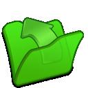 folder, green, parent