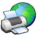 printer, web icon