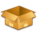 box, empty, product, shipment icon