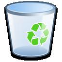 bin, empty, recycle