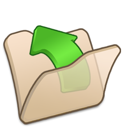 beige, folder, parent icon