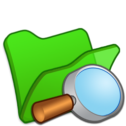 explorer, folder, green icon