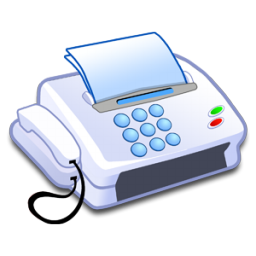 account, fax, office phone, tool icon
