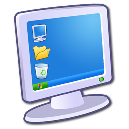 computer, monitor, screen icon