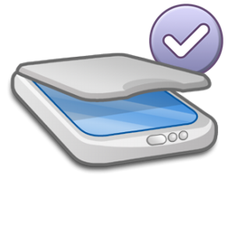 default, scanner icon