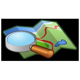 locate, location, map, search icon