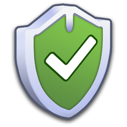 check, firewall, on, security, shield, yes icon
