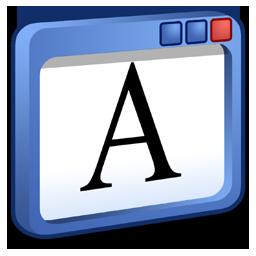 windows, write icon