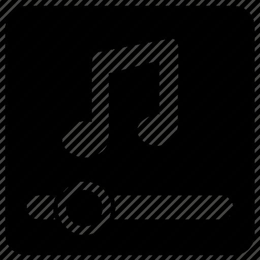 control, level, music, sound, volume icon