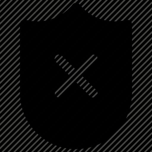 danger, risk, scurity, shield icon