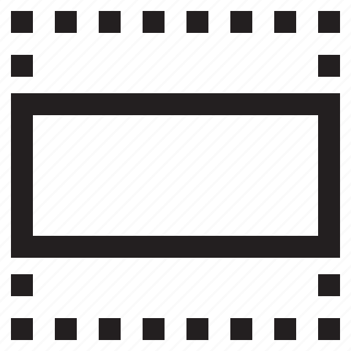 crop, horizontal, ratio, resize icon
