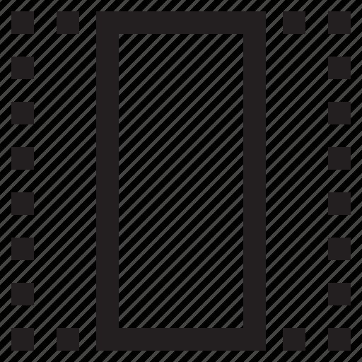 crop, ratio, resize, vertical icon