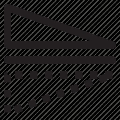 flip, horizontal, mirror, reflect icon
