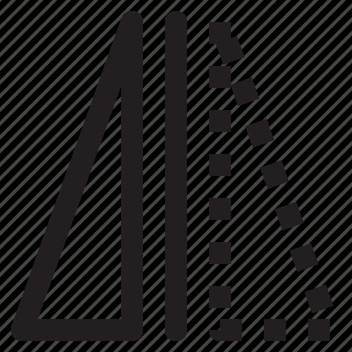 flip, mirror, reflect, vertical icon