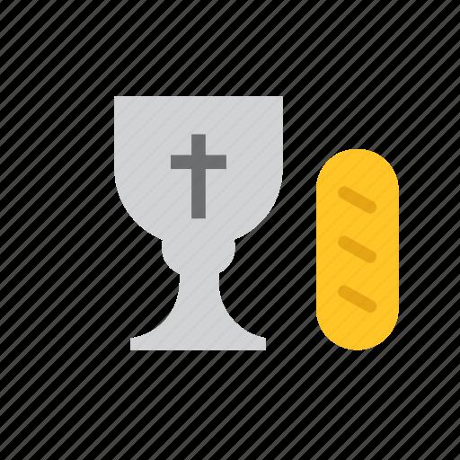 bread, catholic, chalice, christian, eucharist, religion, religious icon