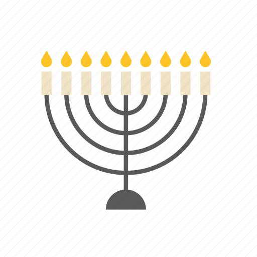 candles, jew, jewish, judaism, menorah, religion, religious icon