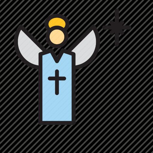 angel, catholic, christian, christianity, religion, religious icon