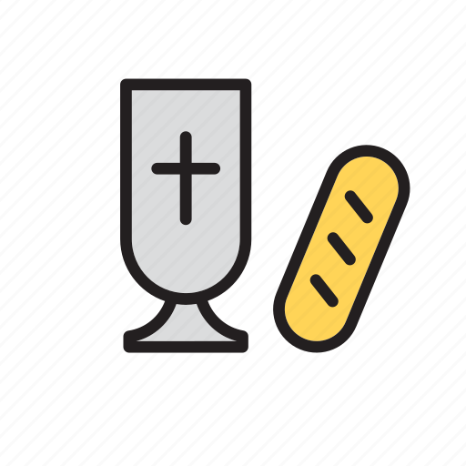 bread, catholic, chalice, christian, christianity, eucharist, religion icon