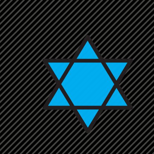 david, jewish, judaism, religion, religious, star, star of david icon
