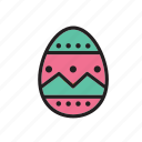 decorated, easter, egg, religion, religious icon