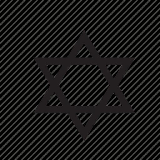 david, israel, jewish, judaism, religion, star, star of david icon