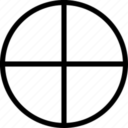 belief, circles, cross, lines icon