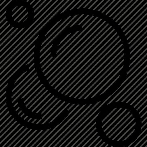 belief, bubbles, circles icon