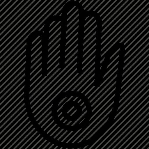 charm, eye, hand, muslim icon