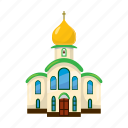 architecture, building, cartoon, chapel, christianity, church, religion icon