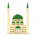 cartoon, islam, islamic, mosque, muslim, religion, religious icon