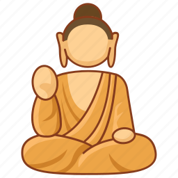buddha, buddhism, buddhist, monument, sculpture, statue icon