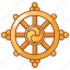 buddha, buddhism, dharmachakra, hinduism, jainism, wheel, worship icon
